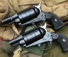 USFA M4-410 & USFA SHOT .45LC/.410 gauge 6 shot SA revolvers I just bought me this pair...