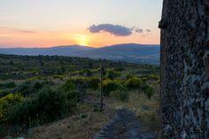 Mount Etna sunset - Mount Etna sunset