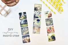 DIY instagram Photo Strip