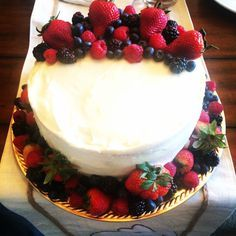 The best Berry Chantilly Cake copy cat recipe from Whole Food's!