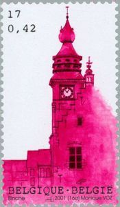 Sello: Tourism (Bélgica) (Logne Castle, Ferrieres) Mi:BE 3065,Sn:BE 1862,Yt:BE 3010,AFA:BE 3072,Bel:BE 3015