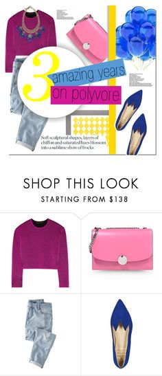 """""""Thank you for everything!"""" by nastya-d ❤ liked on Polyvore featuring Garance Doré, Alexander Wang, Marc Jacobs, The Damned, Wrap, Minna Parikka, Sveva, women's clothing, women's fashion and women"""