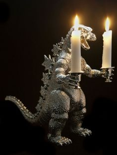godzilla candle holder (maybe i could make this...)