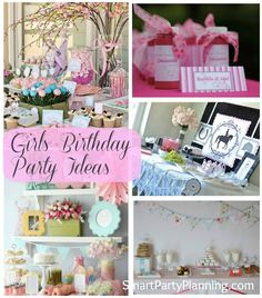 Girls Birthday Party Ideas – Weekly Roundup #GirlsBirthdayParties #Parties #GirlsParties