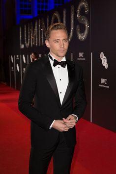 Tom Hiddleston attends the BFI LUMINOUS gala 2015