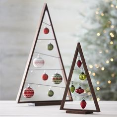 DIY Ornament Display Tree