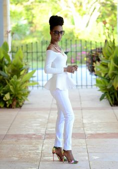 Simple White    Shades N Styles - Ecstasy Models
