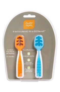 NumNum GOOtensil Self Feeding Utensil (Baby) (2-Pack) available at #Nordstrom