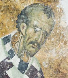 Άγιος Ιωάννης Χρυσόστομος Byzantine Icons, Byzantine Art, Tempera, Fresco, Mural Painting, Views Album, Medieval, Saints, Beautiful