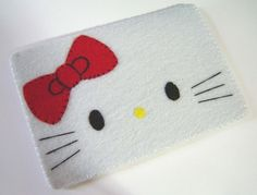 Oh, my little girl is crazy for Hello Kitty-ipod sleeve