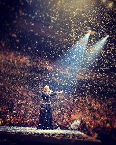 Adele performing at 'TD Garden', Boston, Massachusetts (Sept. 14)