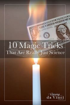 10 Magic Tricks That Are Really Just Science It's Science Saturday again! Amaze your children with these magic tricks, then teach them the science behind it! Science Magic Tricks, Learn Magic Tricks, Magic Tricks For Kids, Magic Tricks Revealed, Simple Magic Tricks, Best Magic Tricks, Card Tricks For Kids, Physics Tricks, Magic Kids