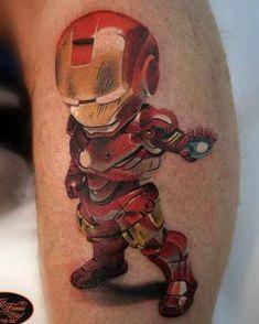 Kid Ironman Tattoo