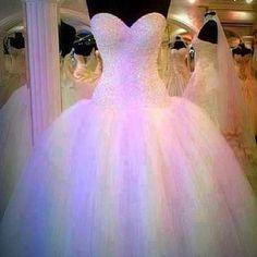 princess wedding dress...I would wear you everday!