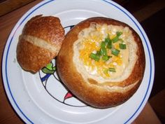 Double Thick Potato Cheese Soup--absolute family favorite!!