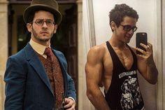 David Lucas surpreendeu os seguidores com foto dos músculos (Divulgação/ Instagram)