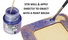 How to apply Pebeo Fantasy Moon Paints
