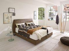 Dank Mehrschichtigem Matratzenaufbau Und Komfortabler Einstiegshöhe Bietet  Das Boxspringbett Superior Einen Besonders Hohen Schlafkomfort.