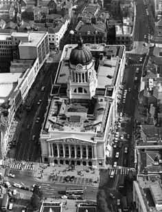Council House, Old Market Square, Nottingham, 1972 Nottingham City, Nottingham Council, Council House, Derbyshire, Town Hall, Train Station, Historical Photos, Old Photos, Places To See