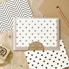 Luxury #Monochrome greetings card packs!  Proudly made in England.