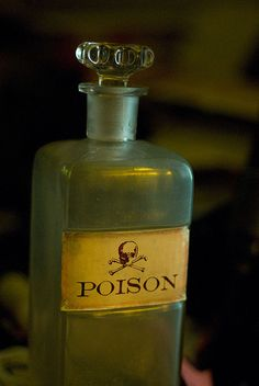 Poison Bottle by jfrancis, via Flickr