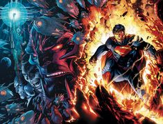 SUPERMAN UNCHAINED #9//Covers and Splashes/Jim Lee/ Comic Art Community GALLERY OF COMIC ART