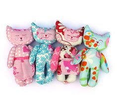 Cat plush toy softie comes with free pattern so by ShopMissElla, £15.00