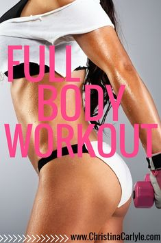 Full body workout - Christina Carlyle