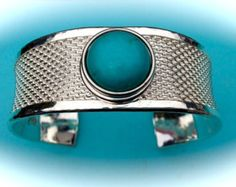 NOOSA Style Snap Charm Silver Cuff Bracelet for Chunks Gingersnaps