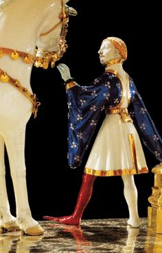 Goldenes Rössl, Detail. Altötting, Wallfahrtsmuseum