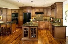 Amazing kitchen cabinet color by joan
