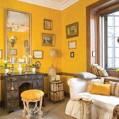 Wonderful traditional yellow living room exclusive on popihome.com