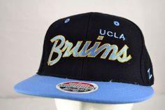 d861c7e037202 UCLA Bruins Black Blue Baseball Cap Snapback  Zephyr  BaseballCap Buy  Basketball