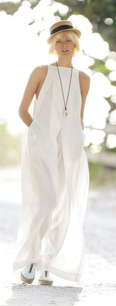 Wide Jumpsuit Summer Style