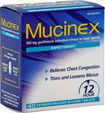 Get the Mucinex ... get this Green Booger out of my nose ...