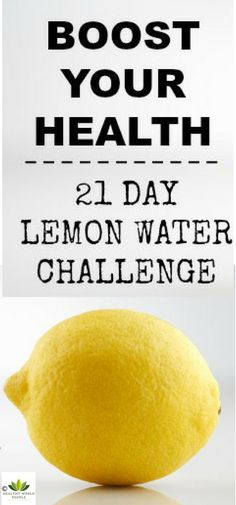 We all know how much benefits lemon water can bring to our health if we dink it regularly. In the video that you can find below is shown a challenge of 28-days of drinking lemon water and the results that it brings to your body.