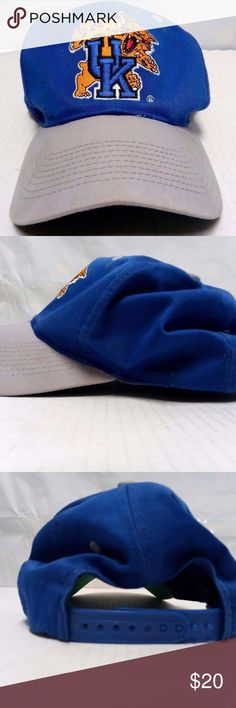 af8119665 VTG Vintage Snapback Hat Kentucky WIldcats UK Has some wear with age but  still in great condition NCAA Accessories Hats