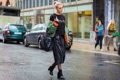 The Best Street Style Pics From Stockholm Fashion Week