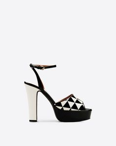 Valentino Monochrome | High-heeled sandal