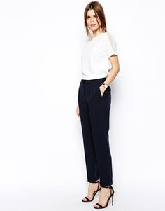 ASOS Clean Peg Pants //workwear inspiration