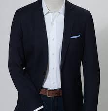 sid mashburn navy blazer jeans look - Google Search