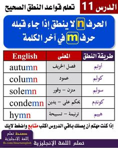 66df2c3cea572 53 Best دروس تعلم الانكليزية٢ images