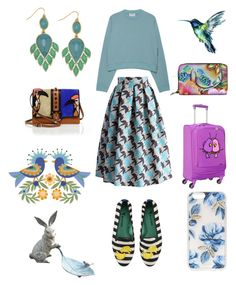 """More birds"" by natashakorol on Polyvore featuring Chicwish, Acne Studios, BillyTheTree, Paula Cademartori, Blue Bird, Anuschka, Home Decorators Collection and Sonix"