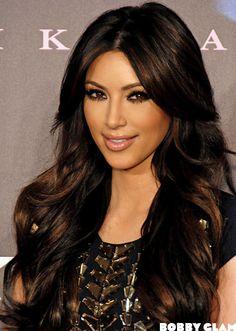 kim kardashian hair - Szukaj w Google