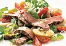 """I am SO in love with this! Making the dressing what the """"hardest"""" part... so easy so yummy!  Warm """"Meat & Potato"""" Salad - The Pampered Chef® www.pamperedchef.biz/katiwoods for more recipes!"""