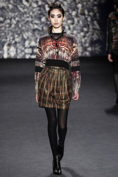 Nicole Miller Autumn/Winter 2014 Ready-To-Wear | British Vogue