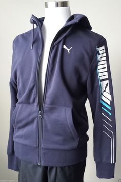 #PUMA MEN SIZE S HOODIE (full front zip warm ) NWT visit our ebay store at  http://stores.ebay.com/esquirestore