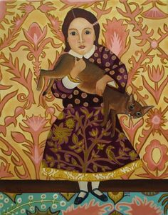 Best Friends-New original painting, painting by artist Catherine Nolin