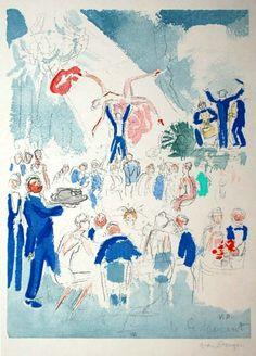 """Kees Van Dongen """"Le Restaurant"""""""