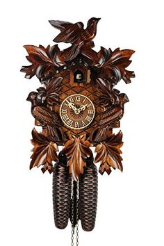 Adolf Herr Cuckoo Clock - The Traditional Cuckoo Bird ** You can get more details by clicking on the image.